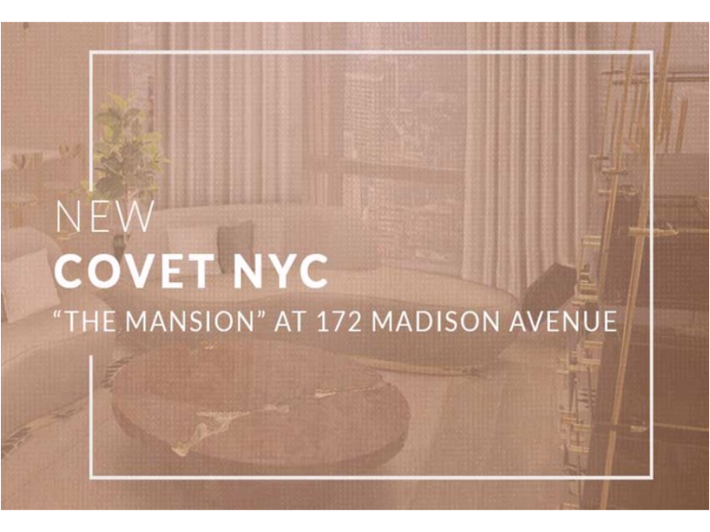 covet nyc COVET NYC: The Best Place in New York for all Design Lovers new CVNYC