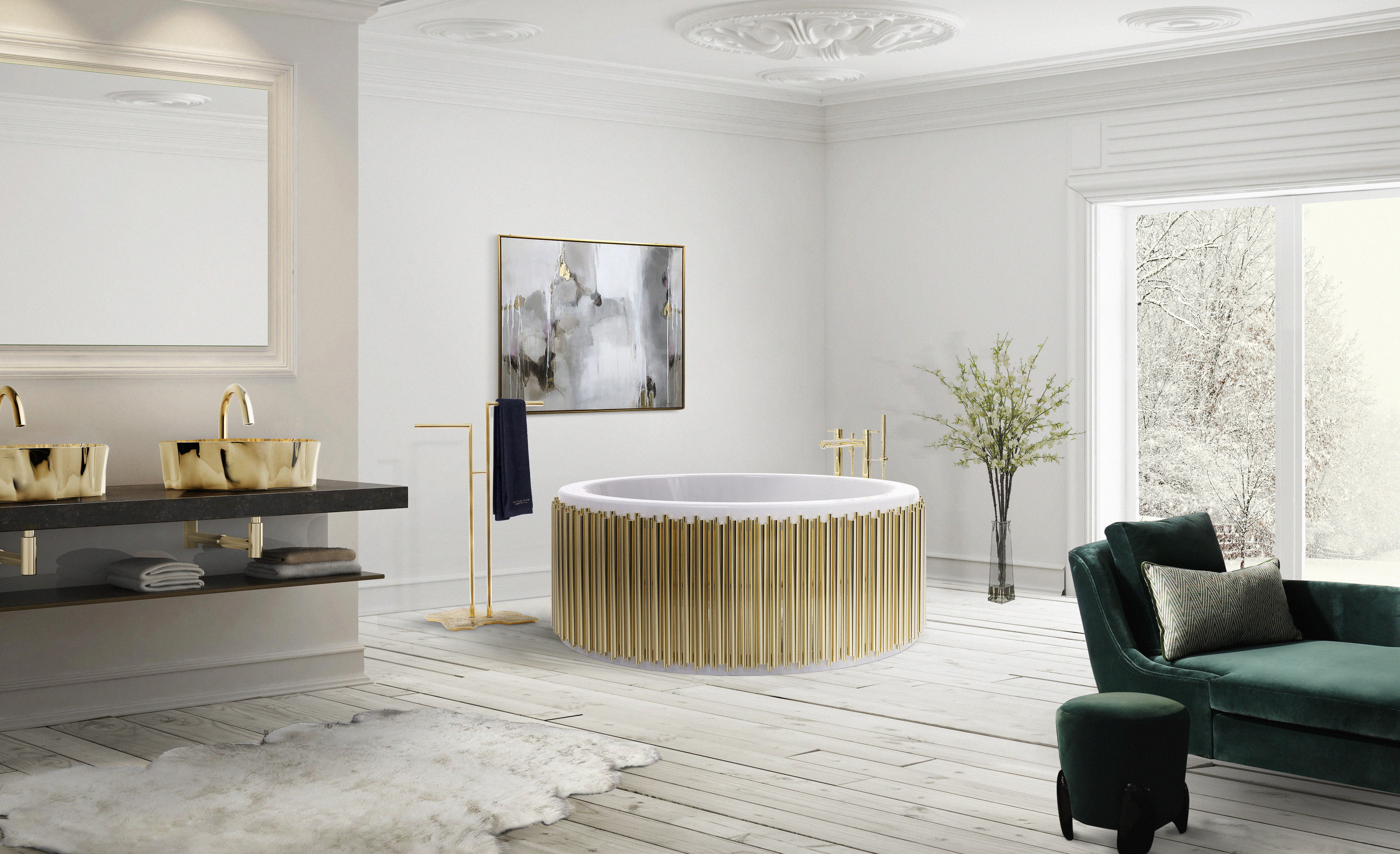 bathtubs 10 Bathtubs To Melt Away The Winter Coldness 56 symphony ambience 1 HR