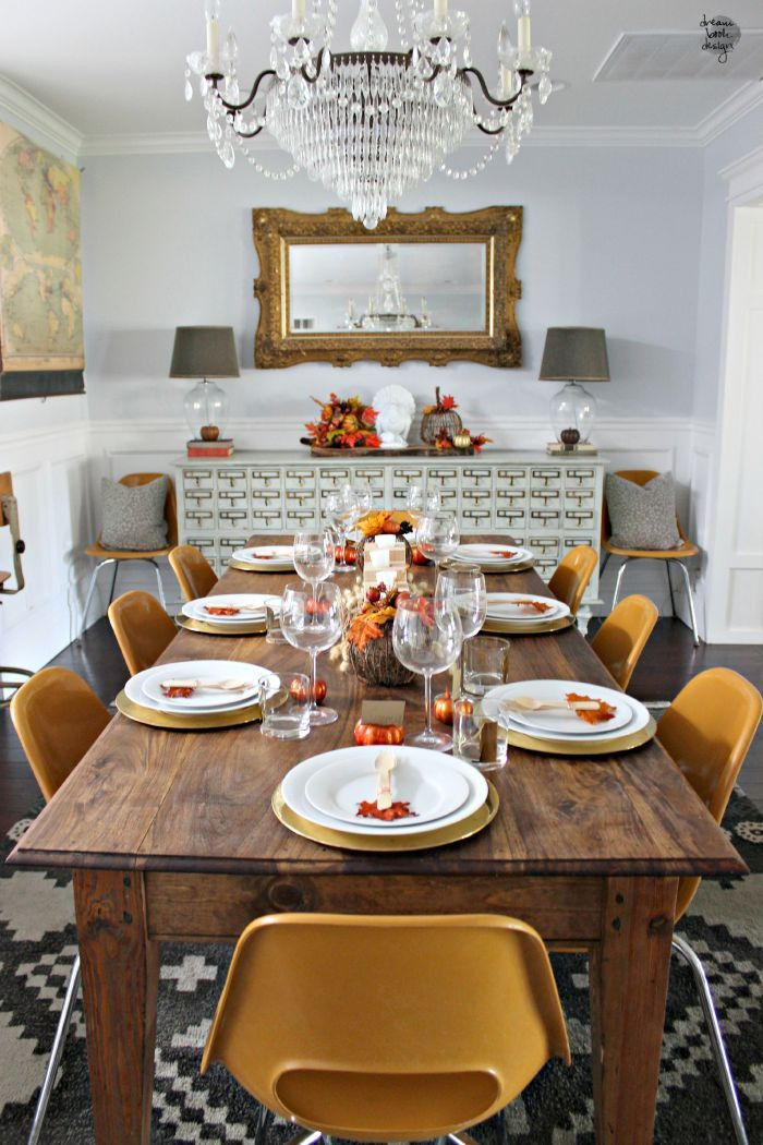Thanksgiving Home Decor Ideas, thanksgiving, home decor ideas, interior design Thanksgiving Home Decor Ideas The Most Inspiring Thanksgiving Home Decor Ideas fall dining room decor 8