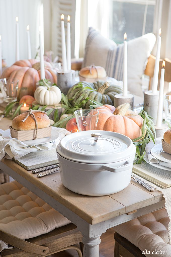 The Most Inspiring Thanksgiving Home Decor Ideas