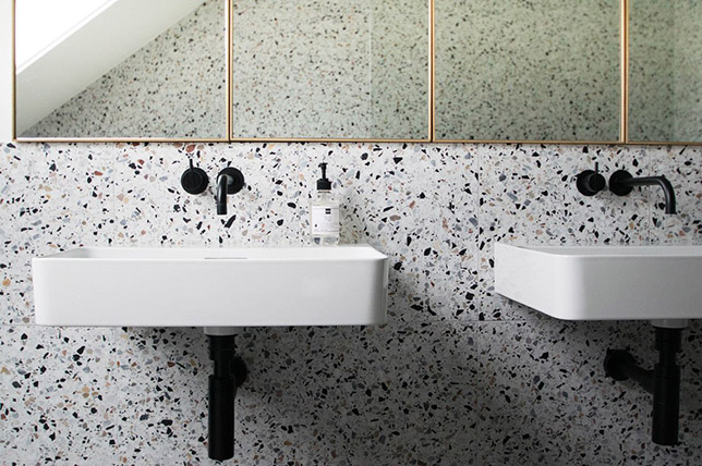 2019 Interior Design Trends, interior design, decor trends, maison valentina 2019 interior design trends The Best 2019 Interior Design Trends modern terrazzo bathroom 2019 interior design trends