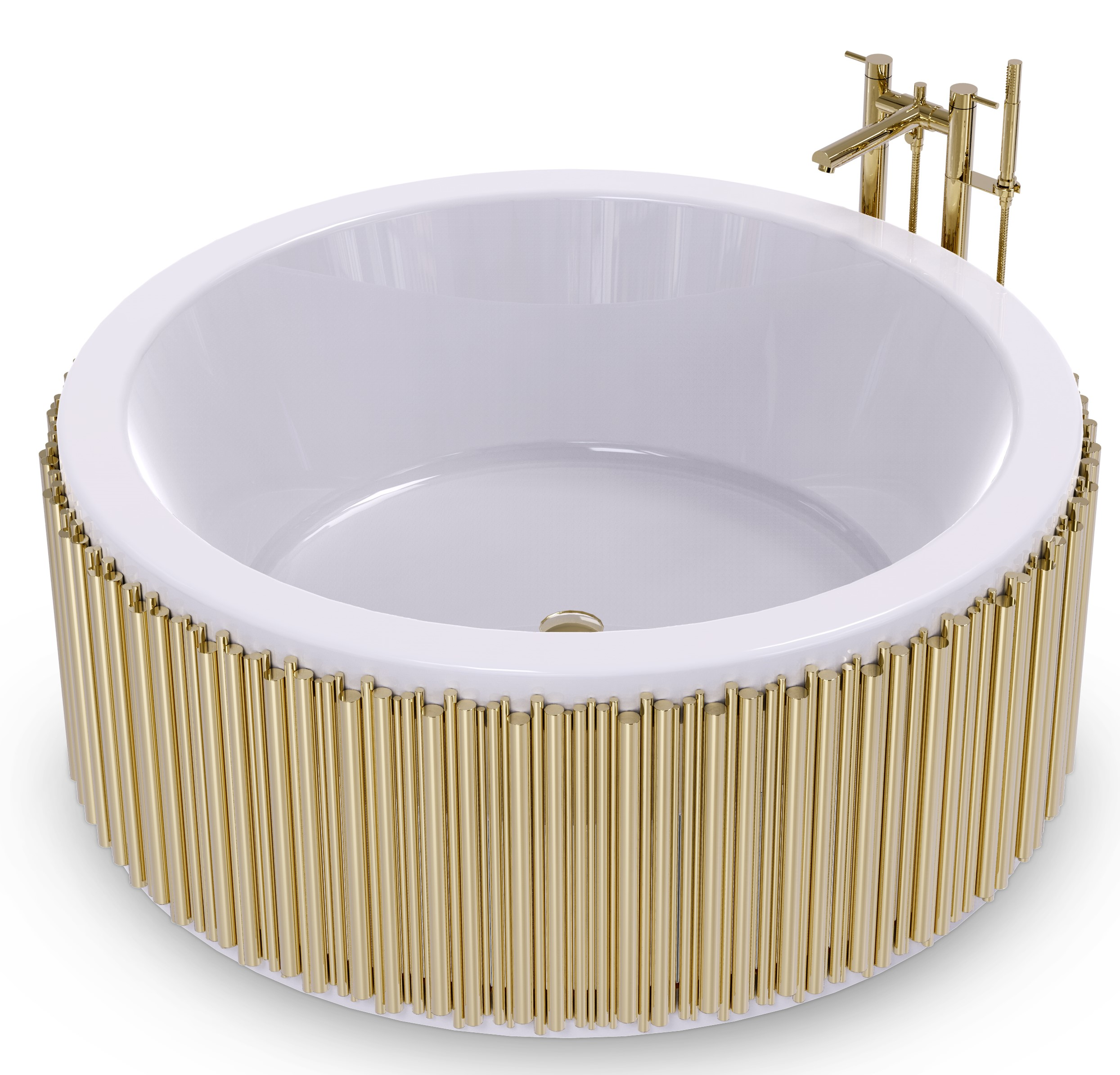 Bathroom Trends, interior design, maison valentina, bathroom design, trends for 2019 bathroom trends Shop the Look - Bathroom Trends by Maison Valentina symphony bathtub 2 HR