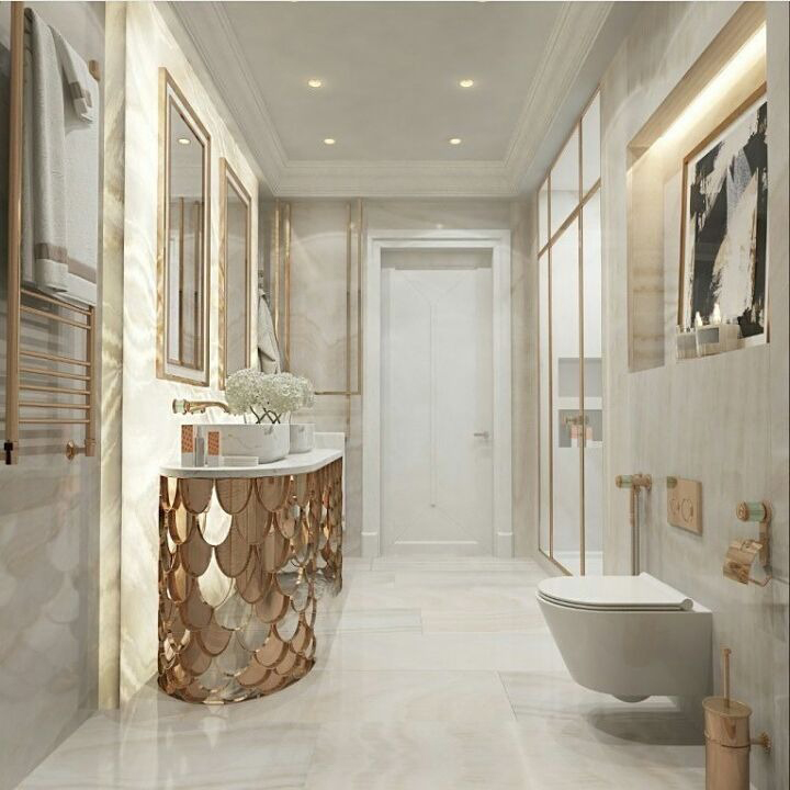 Find Inspiration For Your New Bathroom: Decorating With Neutral Colors