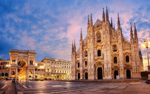 The Ultimate Design Guide For ISaloni & Milan Design Week 2019 shu Europe Italy Milan Duomo di Milano sunrise 700247896 Boris Stroujko 1440x823 480x300