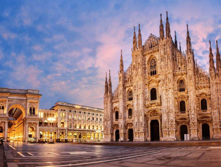 The Ultimate Design Guide For ISaloni & Milan Design Week 2019 shu Europe Italy Milan Duomo di Milano sunrise 700247896 Boris Stroujko 1440x823 740x560