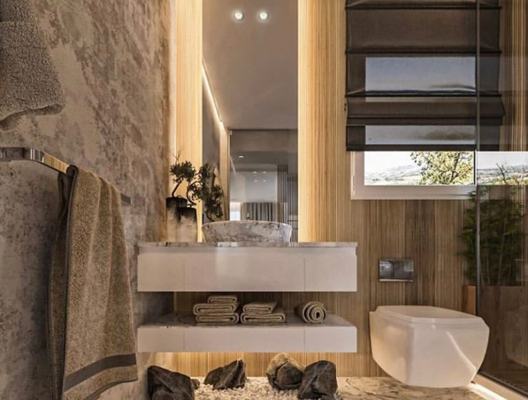 luxury bathroom project The Best Interior Design Studios To Design Your Luxury Bathroom Project eleven design studio 740x560