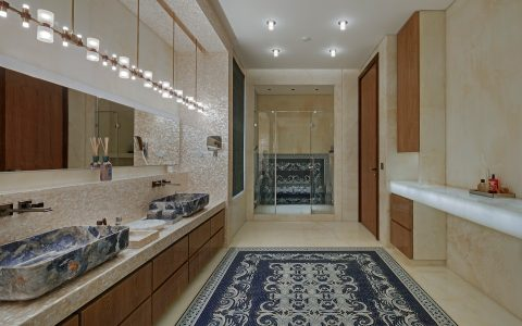 zz architects It's a Marble World: ZZ Architects' Bathroom Designs Its a Marble World ZZ Architects Bathroom Designs 3 1 1 480x300