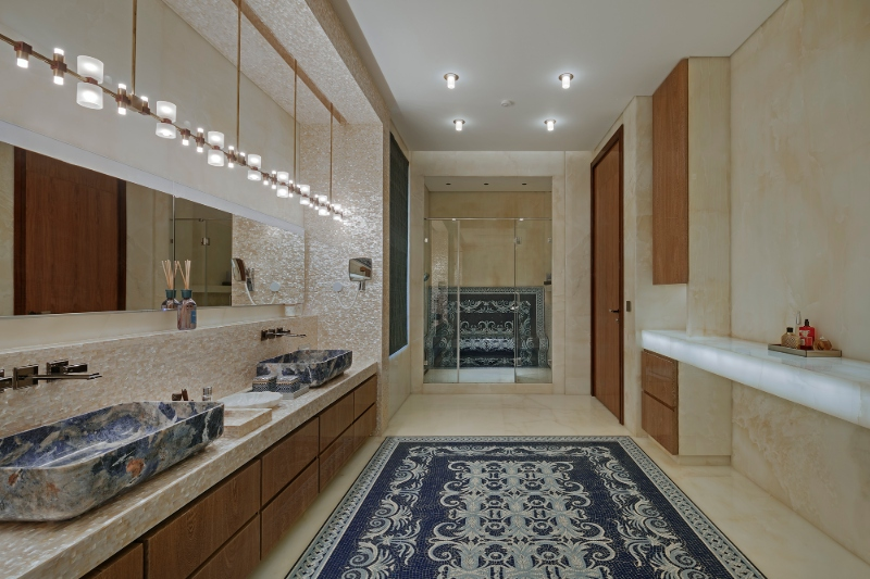 zz architects It's a Marble World: ZZ Architects' Bathroom Designs Its a Marble World ZZ Architects Bathroom Designs 3 1