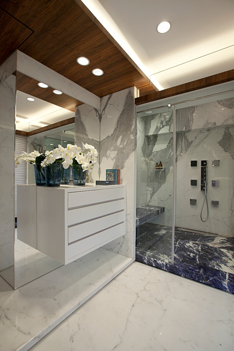 zz architects It's a Marble World: ZZ Architects' Bathroom Designs Its a Marble World ZZ Architects Bathroom Designs 6