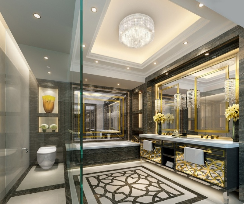 Aedas Design Studio aedas design studio Aedas Design Studio: The Best of Luxury Bathrooms Aedas Design Studio Creates Incredible Bathrooms For Every Project 2