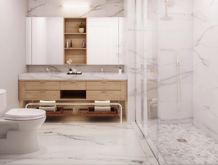 meshberg group Meshberg Group: Minimalistic Bathroom Design Meshberg Group  Minimalistic Bathroom Design 740x560