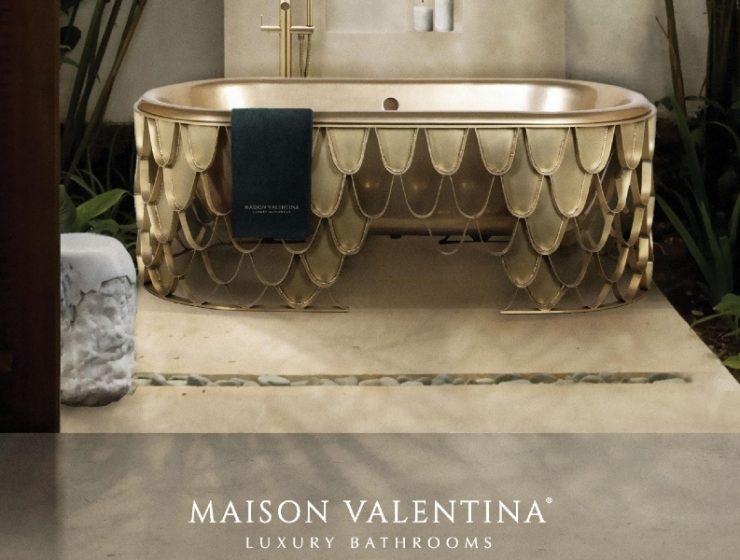 bathroom design Maison Valentina: Luxury Bathroom Design Making Self-Care Real Maison Valentina  Luxury Bathroom Design Making Self Care Real 1 740x560