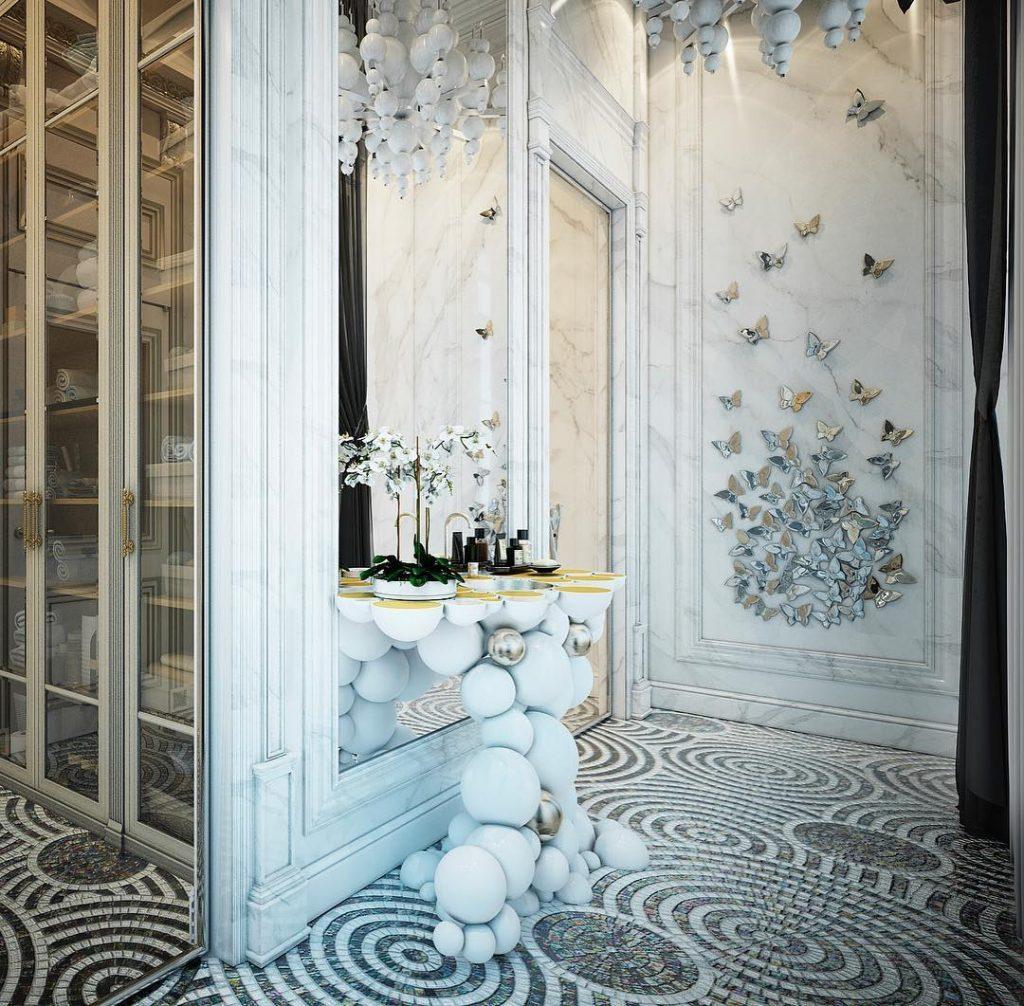 Domoff Interiors, bathroom, maison valentina, bathtub, design, interio design domoff interiors Domoff Interiors – Take Your Bathroom to the Next Level 1 2 1024x1006