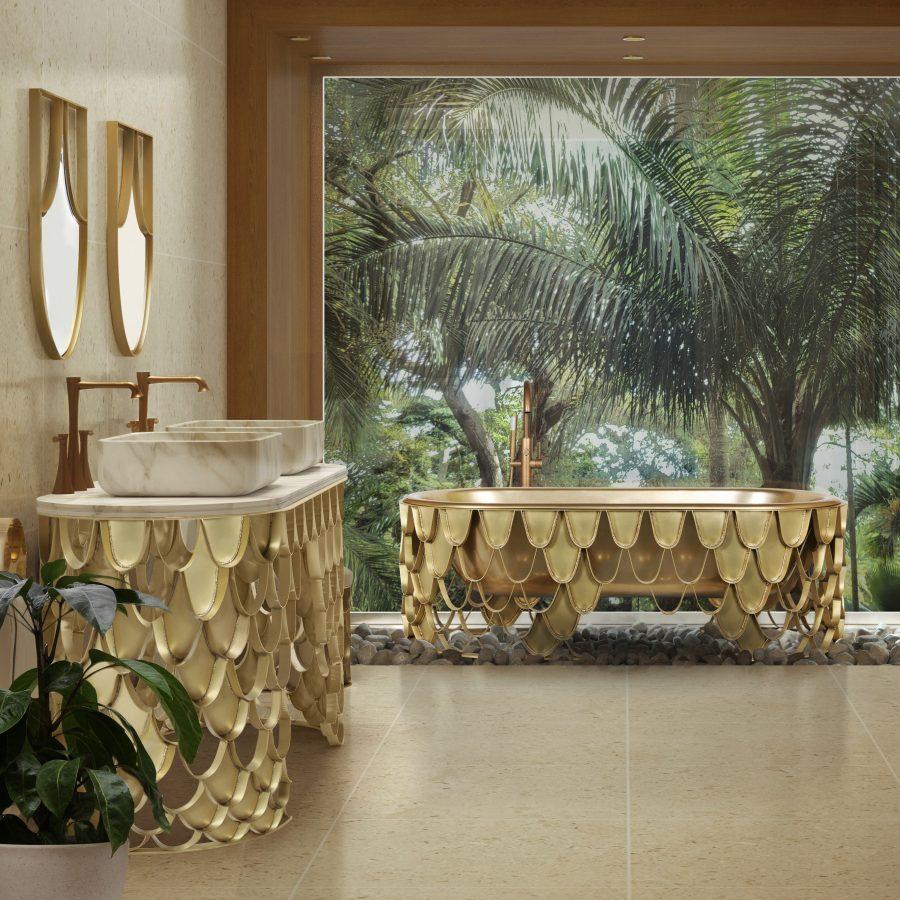 Mid-Century, bathroom, design, decoration, interior design, bathtub, washbasin mid-century Add a Mid-Century Twist to Your Bathroom – Top Ideas and Inspiration Mid Century Bathrooms 4 2 2 900x900  homepage Mid Century Bathrooms 4 2 2 900x900