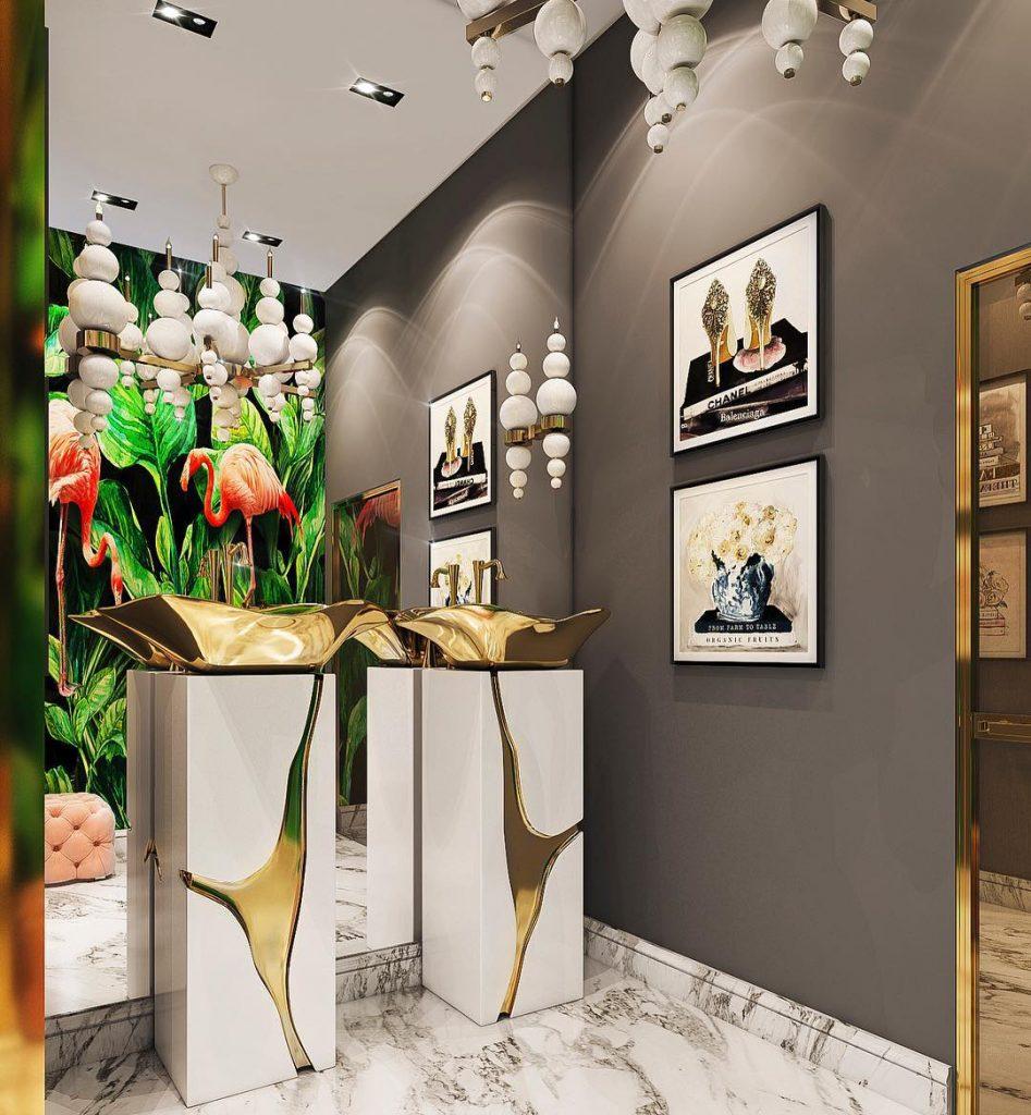 modern-classic style, interior designer, interior design, style, e-book, bathroom, maison valentina modern-classic style 20 Interior Designers Who Rock the Modern-Classic Style project maison valentina 24 HR 947x1024
