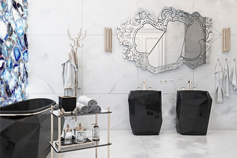 modern-classic style, interior designer, interior design, style, e-book, bathroom, maison valentina modern-classic style 20 Interior Designers Who Rock the Modern-Classic Style A Sophisticated Residential Project by Diff Studio2 1