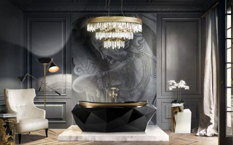 black bathrooms Black Bathrooms: The Ultimate Style and Decoration Guide Black bathroom 1 480x300