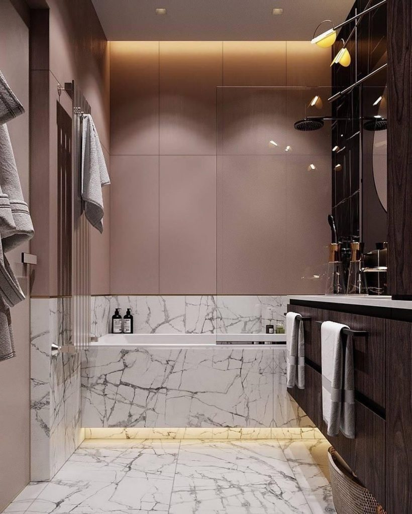 pink bathrooms 6 Dazzling Pink Bathrooms that Will Inspire You Pink Bathrooms 2 2 820x1024