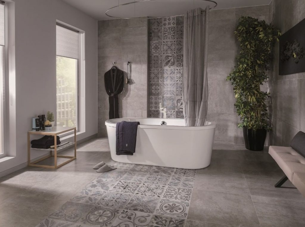 Classic Luxury, tile, bathroom, tiles,  maison valentina, Gessi, Hansgrohe, Grohe, Duravit  classic luxury Classic Luxury – Discover the Leading Bathroom Store and Tile Supplier in South Africa Porcelanosas Rodano tile series 1024x762
