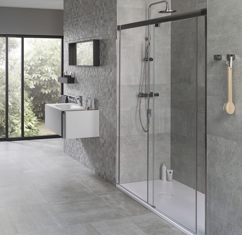 Classic Luxury, tile, bathroom, tiles,  maison valentina, Gessi, Hansgrohe, Grohe, Duravit  classic luxury Classic Luxury – Discover the Leading Bathroom Store and Tile Supplier in South Africa Rodano Acero tile 2