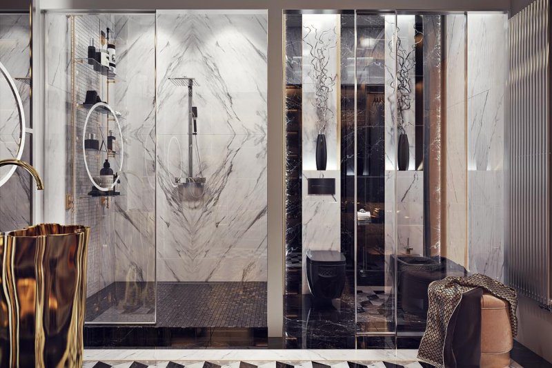 Modern Bathroom Inspirations for your Homes modern bathroom Modern Bathroom Inspirations for your Home Modern Bathroom Inspirations for your Homes 3