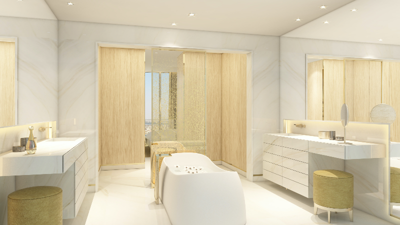 3 Luxurious Bathroom Designs Projects from Sybille De Margerie luxurious bathroom designs projects 3 Luxurious Bathroom Designs Projects from Sybille De Margerie Sybille De Margerie ROYAL ATLANTIS RESIDENCES