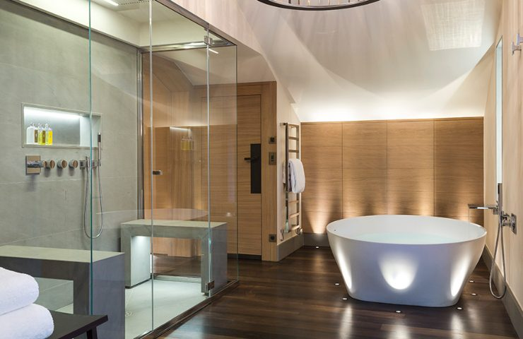 3 Luxurious Bathroom Designs Projects from Sybille De Margerie