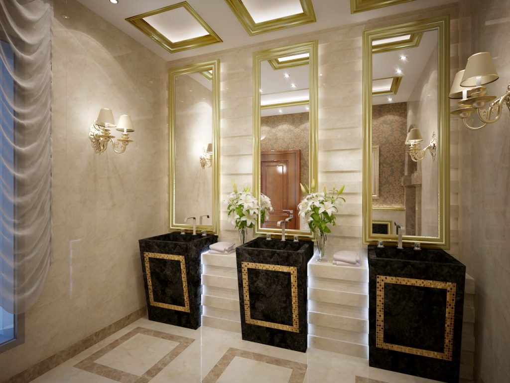 luxury bathrooms inspiration Top 20 Interior Designers in Riyadh – Luxury Bathrooms Inspiration Top 15 Interior Designers in Riyadh Luxury Bathroom 2 1024x768