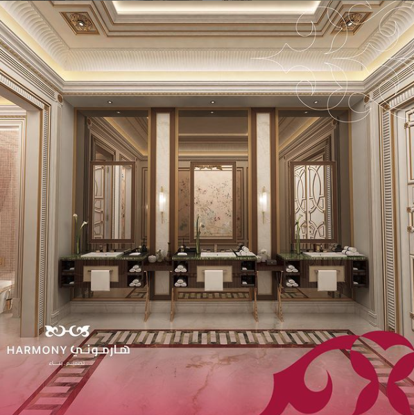 Top 20 Interior Designers in Riyadh - Luxury Bathrooms Inspiration luxury bathrooms inspiration Top 20 Interior Designers in Riyadh – Luxury Bathrooms Inspiration Top 15 Interior Designers in Riyadh Luxury Bathroom 4