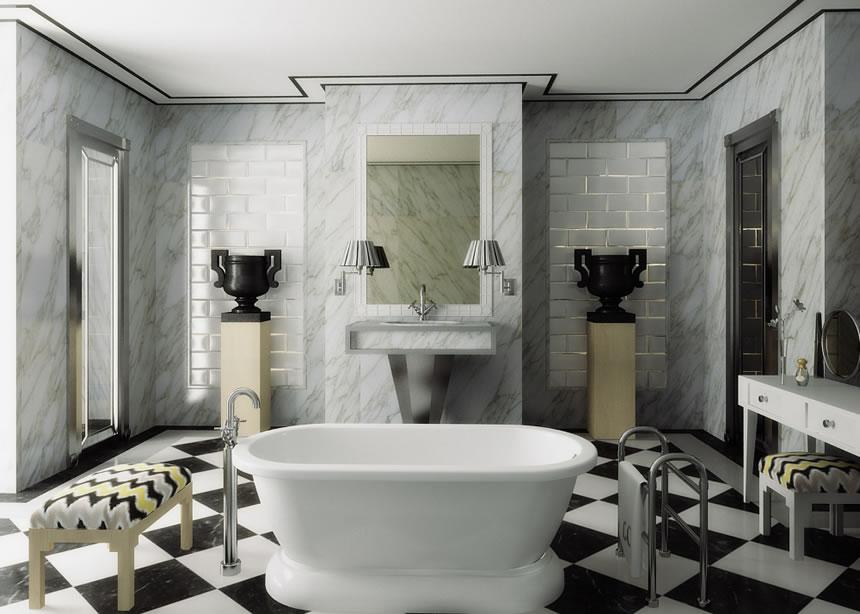 top interior designers from madrid 20 Bathroom Ideas By The Top Interior Designers From Madrid lorenzo castillo  homepage lorenzo castillo