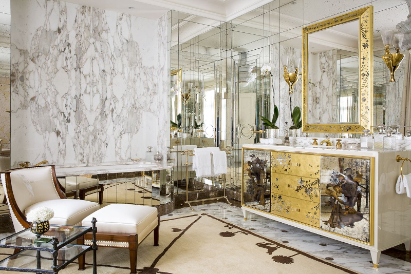 Fascinating Bathrooms from the best Interior Designers of Paris  fascinating bathrooms from the best interior designers of paris Fascinating Bathrooms from the best Interior Designers of Paris 1 Alberto Pinto 2