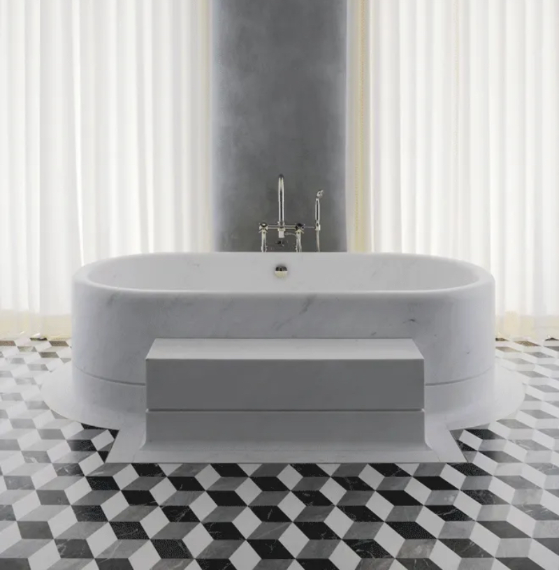 Fascinating Bathrooms from the best Interior Designers of Paris  fascinating bathrooms from the best interior designers of paris Fascinating Bathrooms from the best Interior Designers of Paris 12