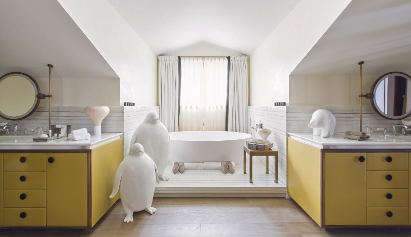 Fascinating Bathrooms from the best Interior Designers of Paris  fascinating bathrooms from the best interior designers of paris Fascinating Bathrooms from the best Interior Designers of Paris 19