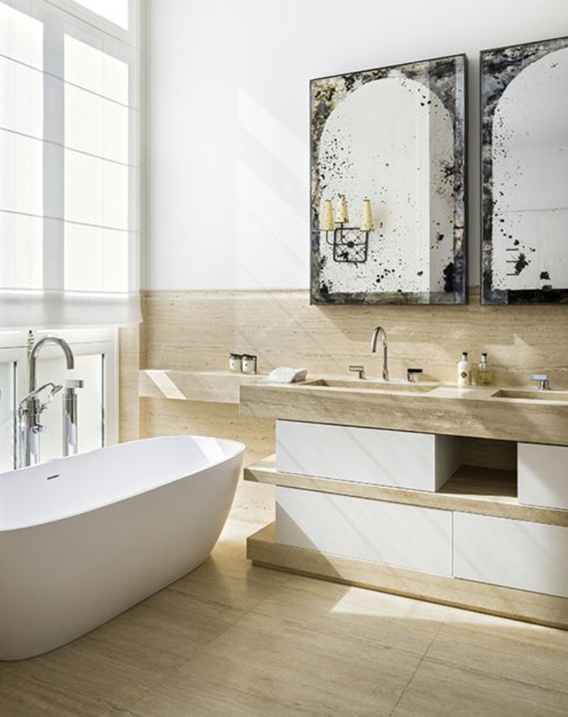 fascinating bathrooms from the best interior designers of paris Fascinating Bathrooms from the best Interior Designers of Paris 2