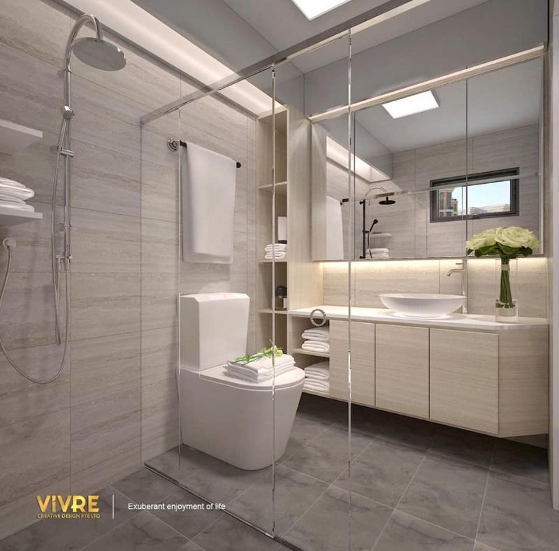 20 Bathroom Creative Choices by Top Singapore Interior Designers singapore interior designers 20 Bathroom Creative Choices by Top Singapore Interior Designers 20 Bathroom Creative Choices by Top Singapore Interior Designers VIVRE 2