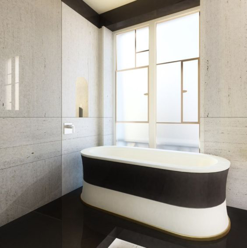 Fascinating Bathrooms from the best Interior Designers of Paris  fascinating bathrooms from the best interior designers of paris Fascinating Bathrooms from the best Interior Designers of Paris 20