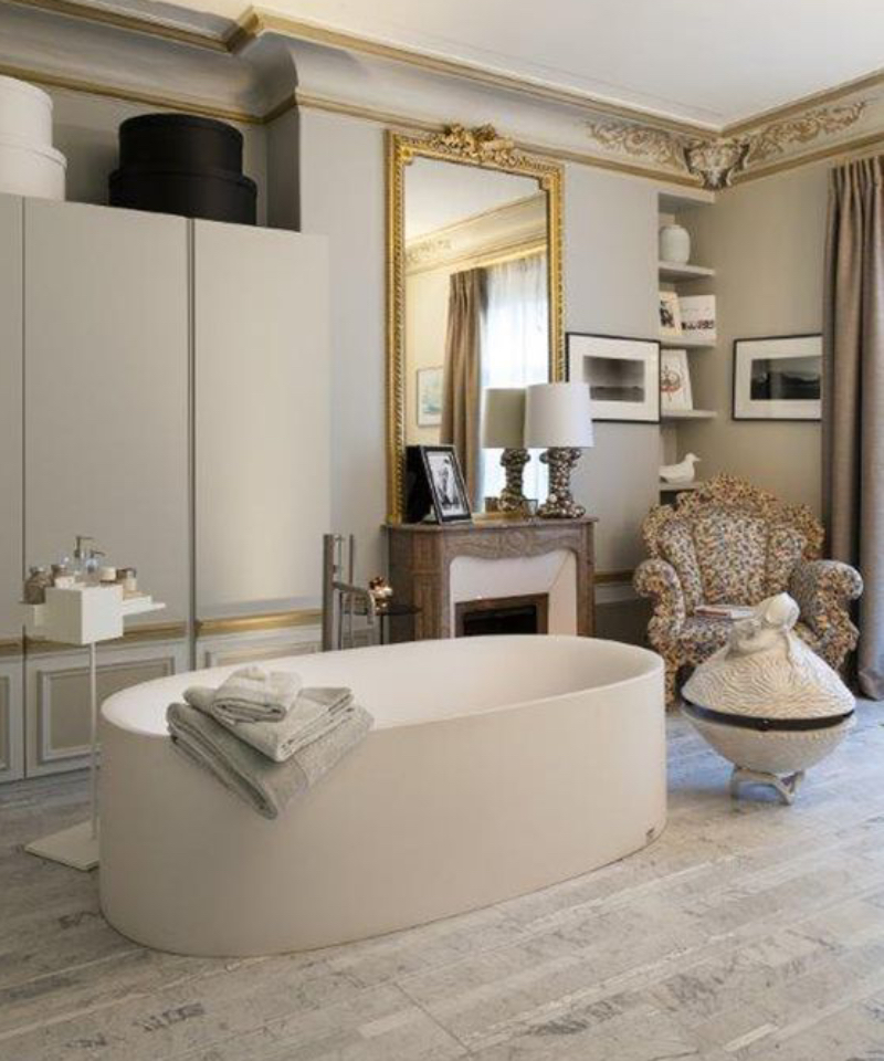 Fascinating Bathrooms from the best Interior Designers of Paris  fascinating bathrooms from the best interior designers of paris Fascinating Bathrooms from the best Interior Designers of Paris 6