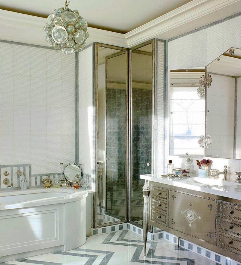 Fascinating Bathrooms from the best Interior Designers of Paris  fascinating bathrooms from the best interior designers of paris Fascinating Bathrooms from the best Interior Designers of Paris Paris Bathroom Designers 7