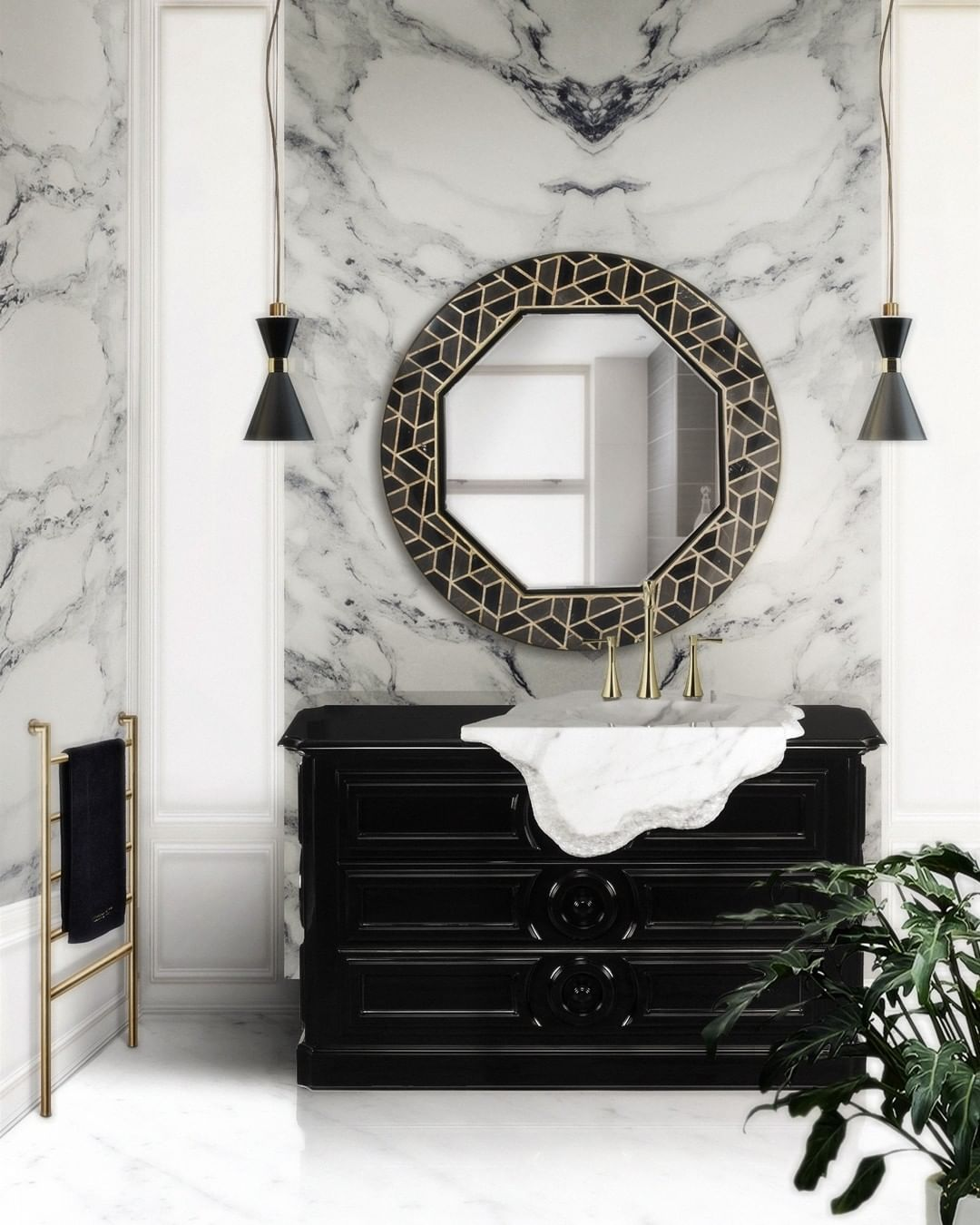 Grey Marble marble bathroom Marble Bathroom: 5 Luxury Incredible Ideas 156886901 428794201750727 2349671582962648355 n