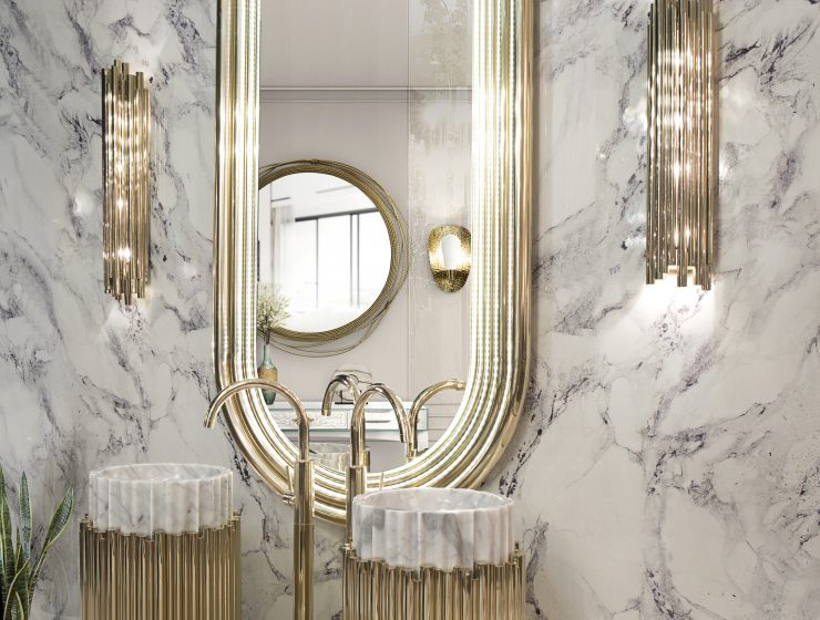 marble bathroom Marble Bathroom: 5 Luxury Incredible Ideas 23 colosseum mirror symphony freestand maison valentina HR 740x560