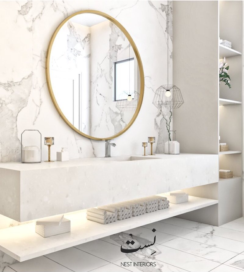 Abu Dhabi Projects abu dhabi projects Bathroom Inspiration from Abu Dhabi Interior Design Projects 8 Abu Dhabi Projects 1