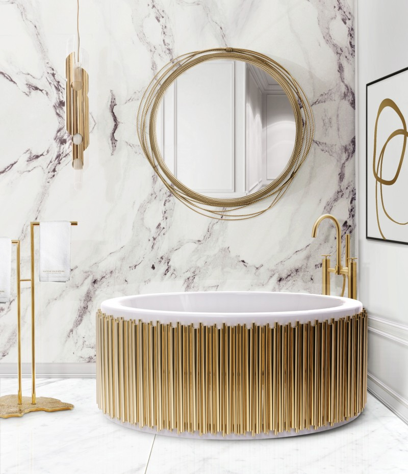 Bathroom Trend  with Marble bathroom trends Bathroom Trends for 2021: Inspiring Looks and Ideas for your Bathroom Marble