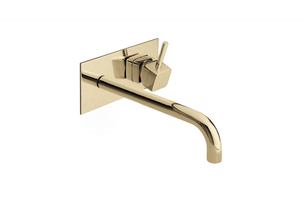 top interior designers from amsterdam 20 Bathroom Inspirations By The Top Interior Designers From Amsterdam groove wall mixer tap 1 HR 1024x683
