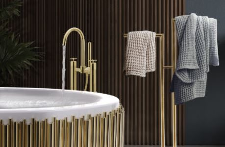bathroom decoration Bathroom Decoration Ideas: Add luxury to your Bathroom towel 1 459x300