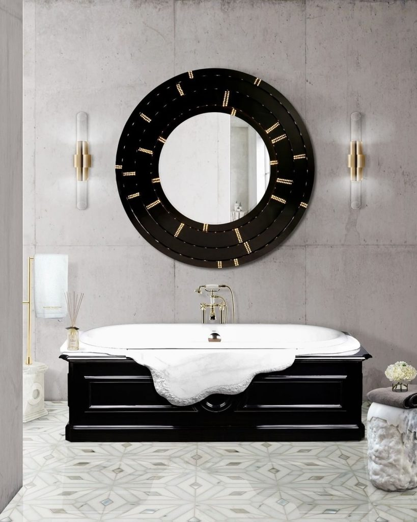 Black and White Master bathroom black and white Black and White Bathrooms: 5 Astonishing Bathroom Ideas 139618806 859197184654367 2436775521995438378 n 819x1024