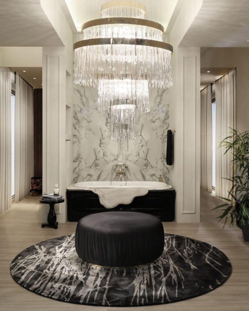 Luxury Black and White Bathroom  black and white Black and White Bathrooms: 5 Astonishing Bathroom Ideas 158889049 213773837173108 6570488558887673788 n 819x1024