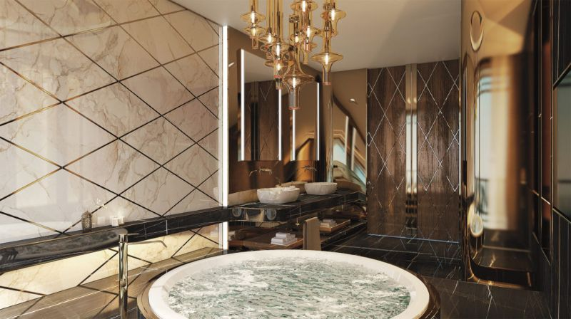 Best Luxury Bathroom Projects From Lugano best luxury bathroom projects Best Luxury Bathroom Projects From Lugano A Bentley Apartment Project