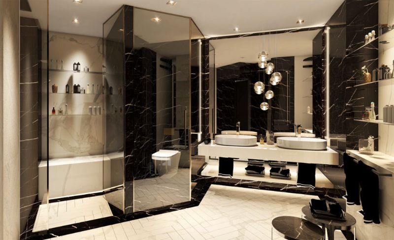 Best Luxury Bathroom Projects From Lugano best luxury bathroom projects Best Luxury Bathroom Projects From Lugano A Suite Dom Perignon Project