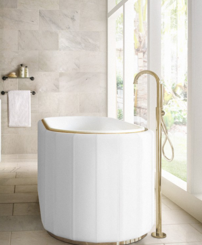 Master Bathroom Projects by Parisian Designers master bathroom projects by parisian designers Master Bathroom Projects by Parisian Designers DARIAN BATHTUB
