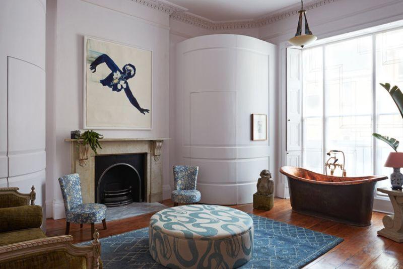 Inspiring Bathroom Projects inspiring bathroom projects Inspiring Bathroom Projects from London Interior Designers Historic Bloomsbury House